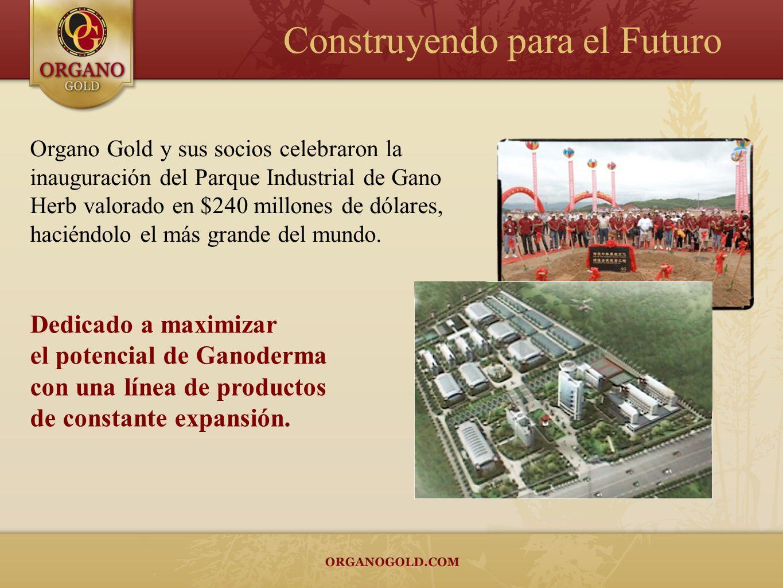 Organo Gold y sus socios celebraron la inauguración del Parque Industrial de Gano Herb valorado en $240 millones de dólares, haciéndolo el más grande