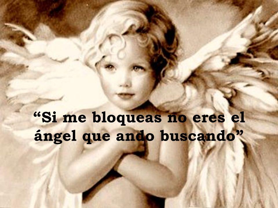 Busco un ángel que se deje llevar sólo por el corazón