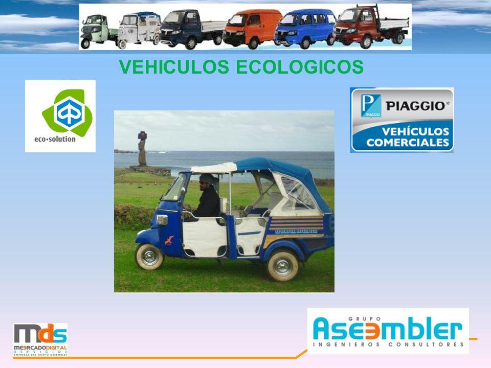 VEHICULOS ECOLÓGICOS EN CHILE Mercado Digital Servicios, Empresa del Grupo ASEEMBLER Ingenieros Consultores Ltda.