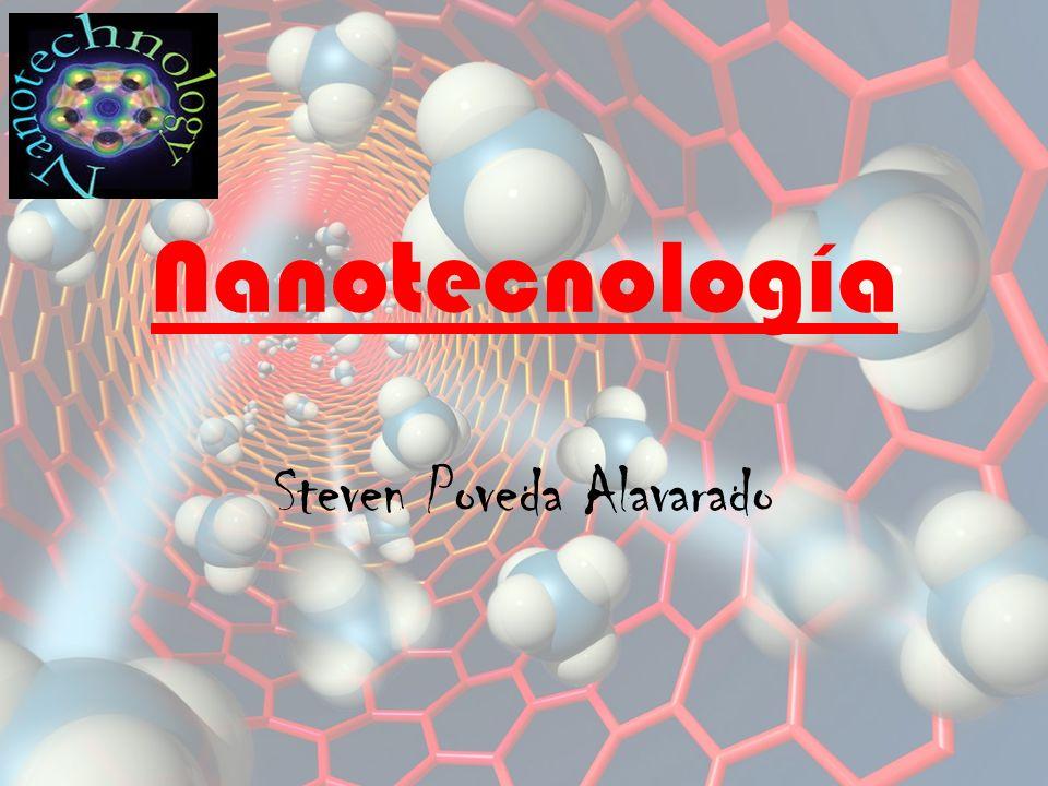 Nanotecnología Steven Poveda Alavarado