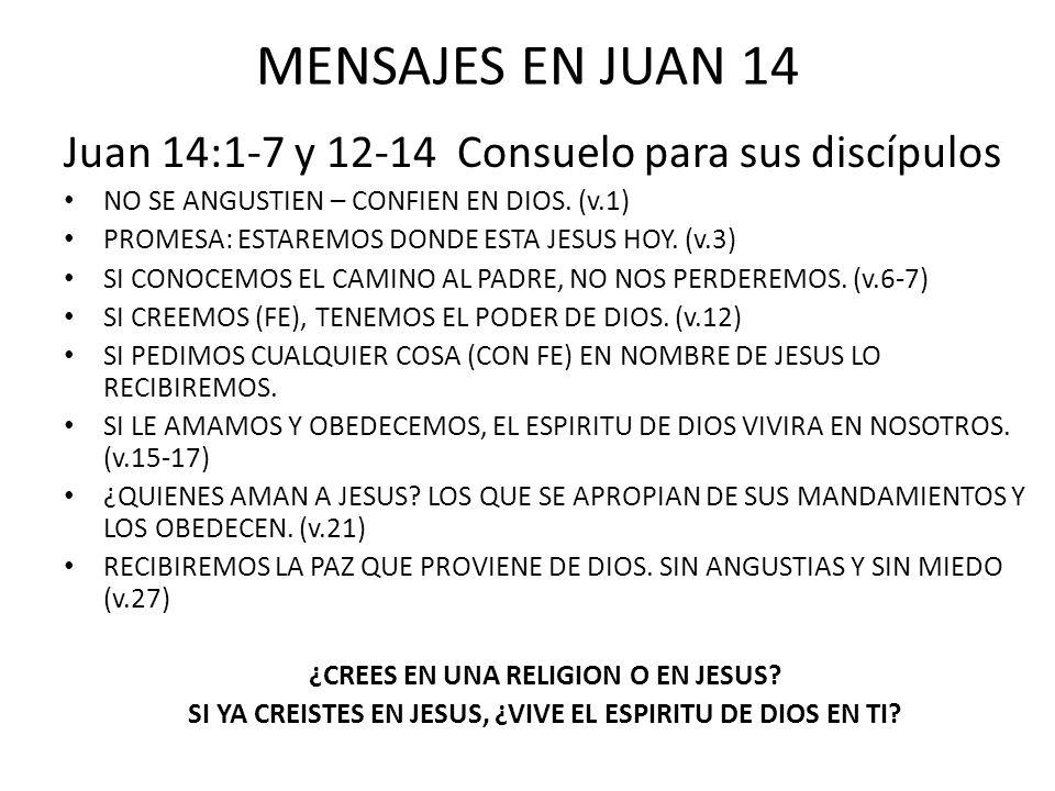 MENSAJES EN JUAN 15 Juan 15:1-12 Crecimiento Espiritual DEBEMOS PERMANECER PEGADOS A JESUS.