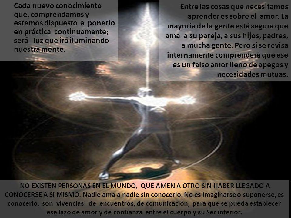 Cada nuevo conocimiento que, comprendamos y estemos dispuesto a ponerlo en práctica continuamente; será luz que irá iluminando nuestra mente.