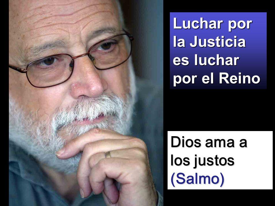 Óscar Romero, Obispo de El Salvador y compañeros mártires jesuitas de El Salvador. Dichosos los perseguidos por hacer la voluntad de Dios, porque de e