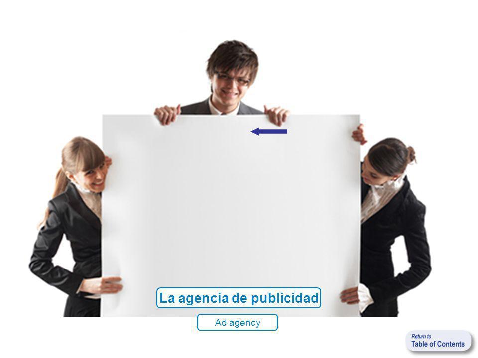 La agencia de publicidad Ad agency