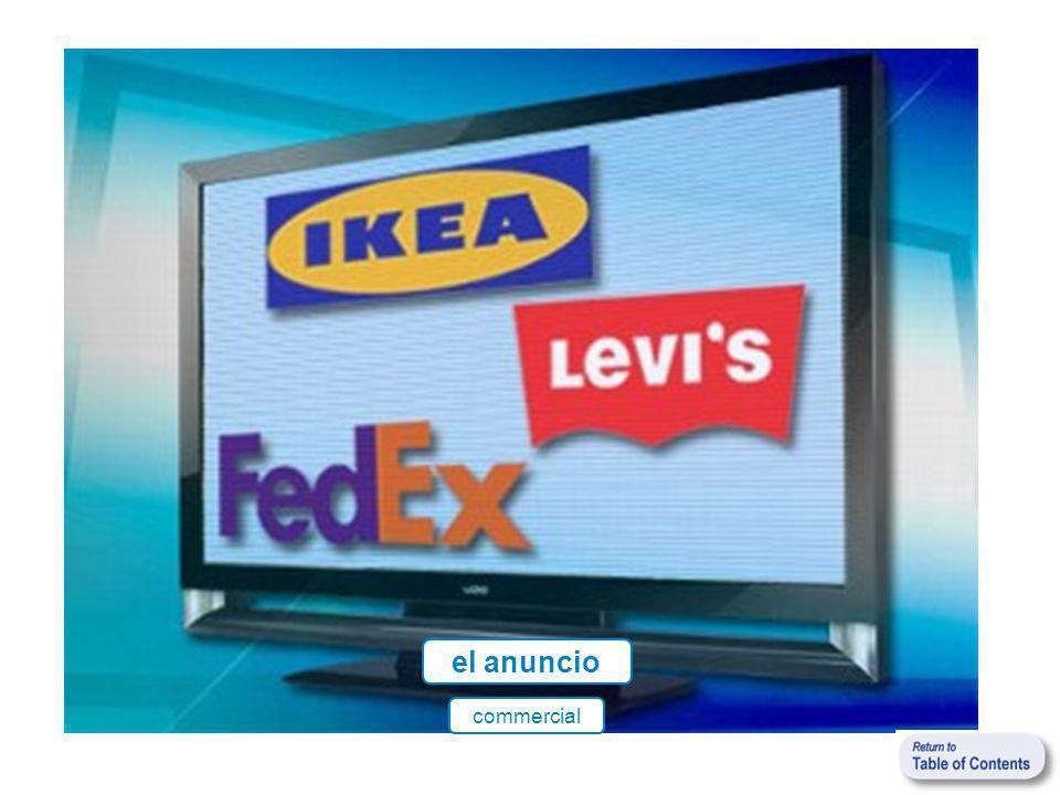 el anuncio commercial