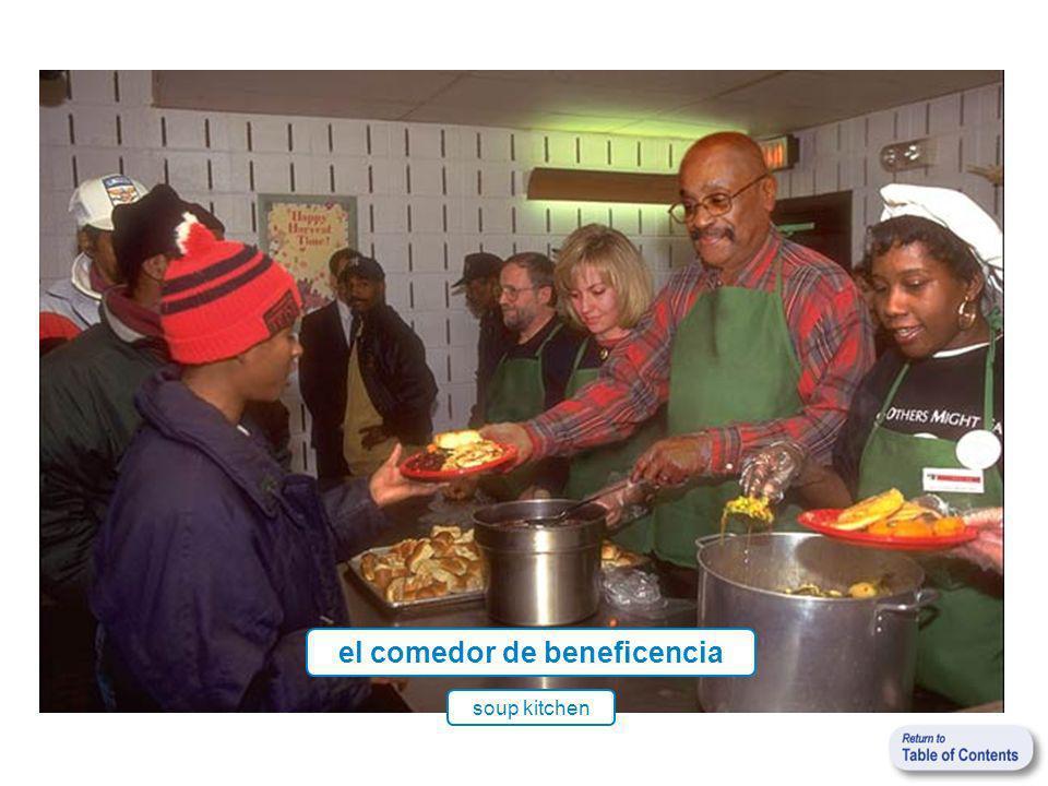 el comedor de beneficencia soup kitchen