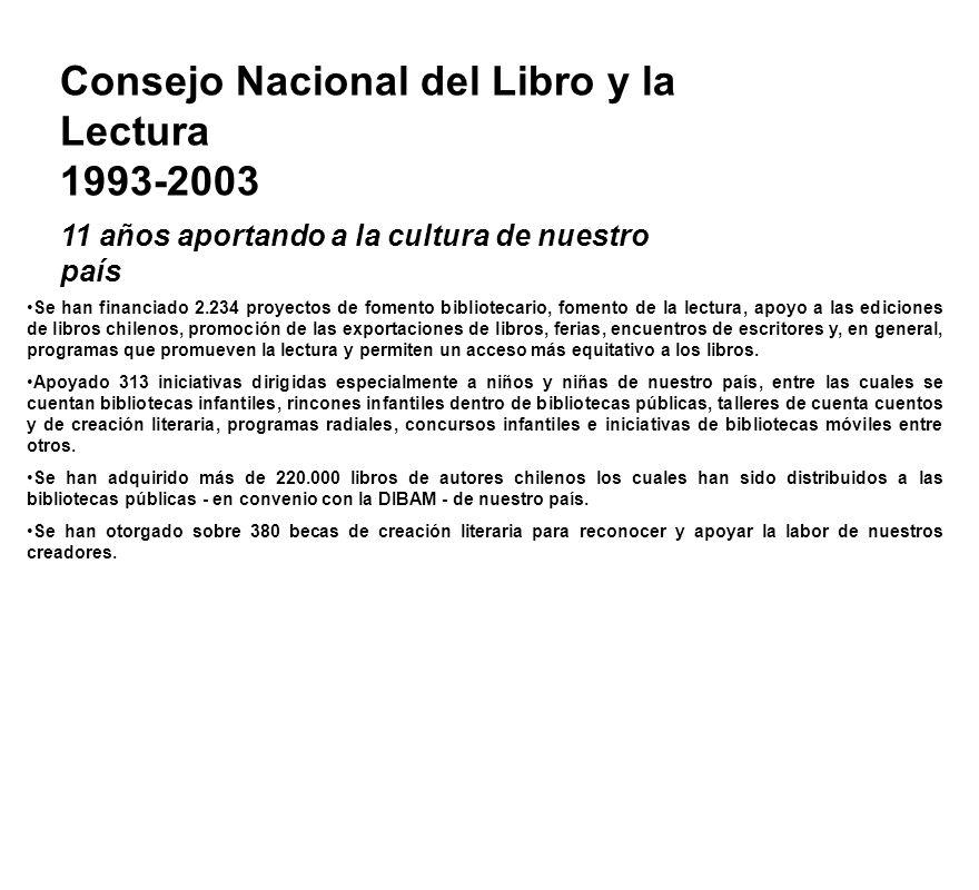 El Consejo Nacional del Libro y la Lectura es un organismo público de carácter autónomo, al que de acuerdo a la Ley le corresponde administrar y asign