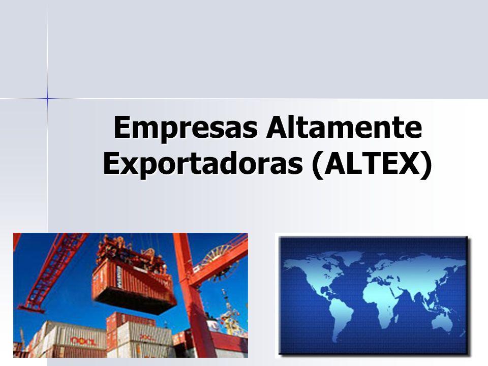 Empresas Altamente Exportadoras (ALTEX)
