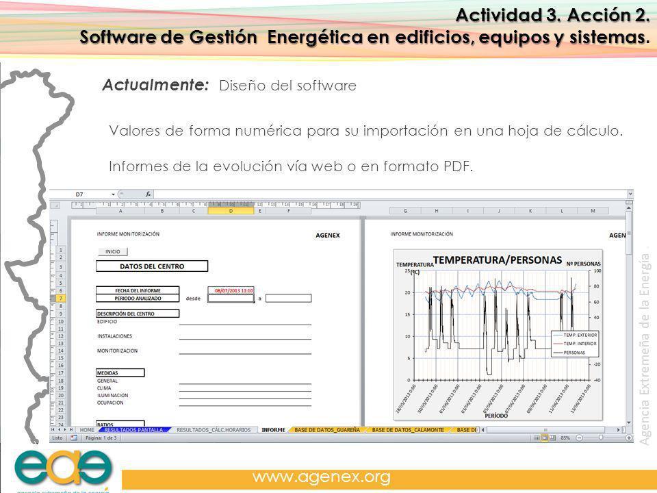 Agencia Extremeña de la Energía. www.agenex.org Actividad 3.