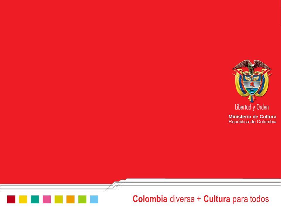 Colombia diversa + Cultura para todos www.mincultura.gov.co Por qué es importante tener una producción cultural fuerte.