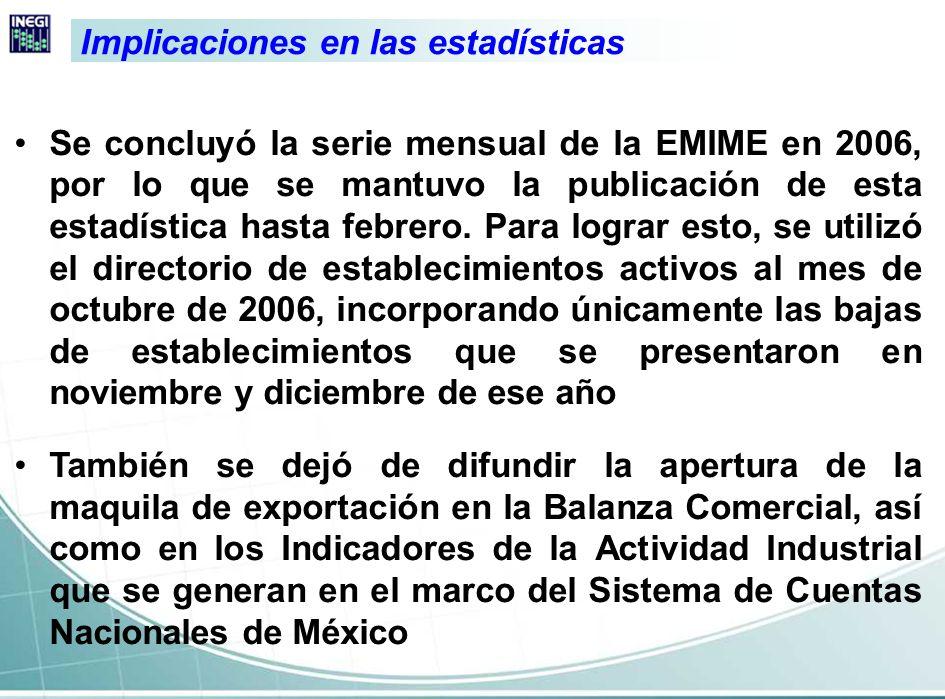 Importancia del Programa IMMEX El Programa IMMEX adquiere particular importancia en el contexto de la industria manufacturera, la cual contribuye con el 43% de la producción bruta total, y con más del 80% del valor de las exportaciones que realiza nuestro país.