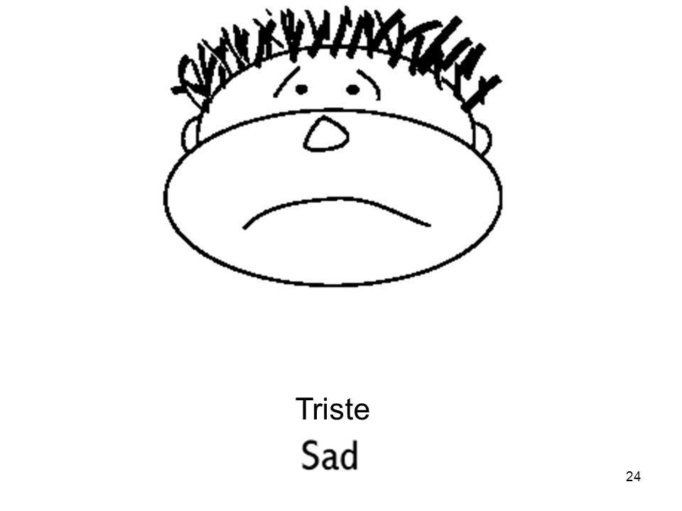 24 Triste