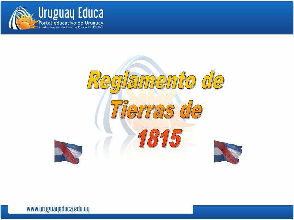 En 1815, no solucionada y aún agravada la situación económica de la Provincia Oriental, Artigas propone un proyecto agrario.