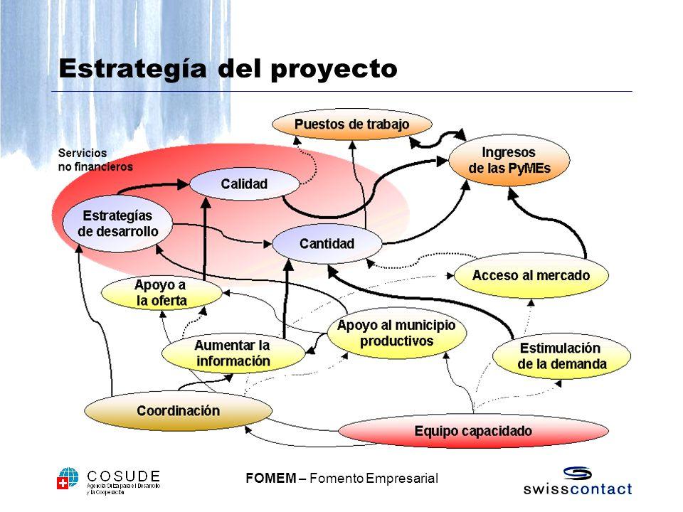 FOMEM – Fomento Empresarial Estrategía del proyecto