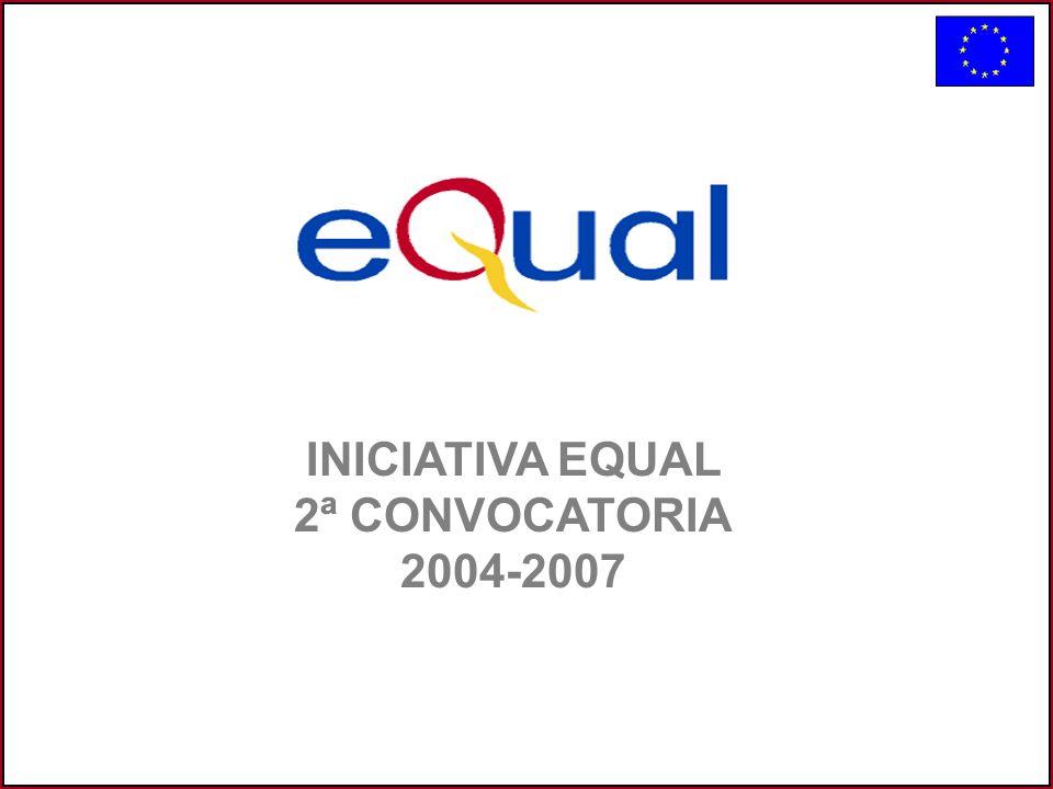 INICIATIVA EQUAL 2ª CONVOCATORIA 2004-2007