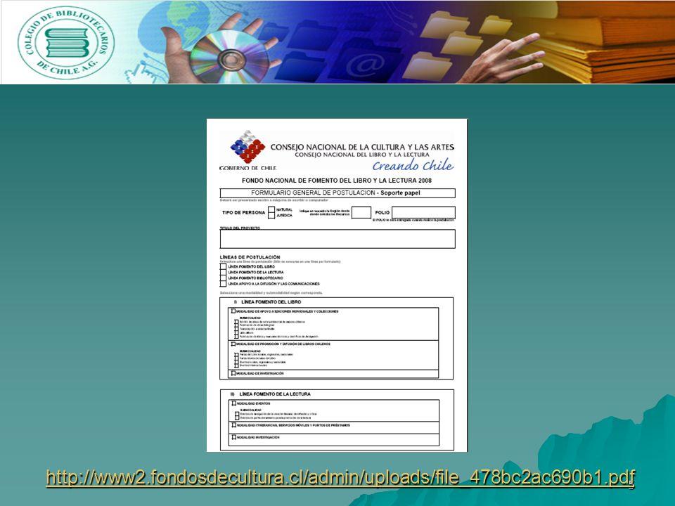 5 http://www2.fondosdecultura.cl/admin/uploads/file_478bc2ac690b1.pdf