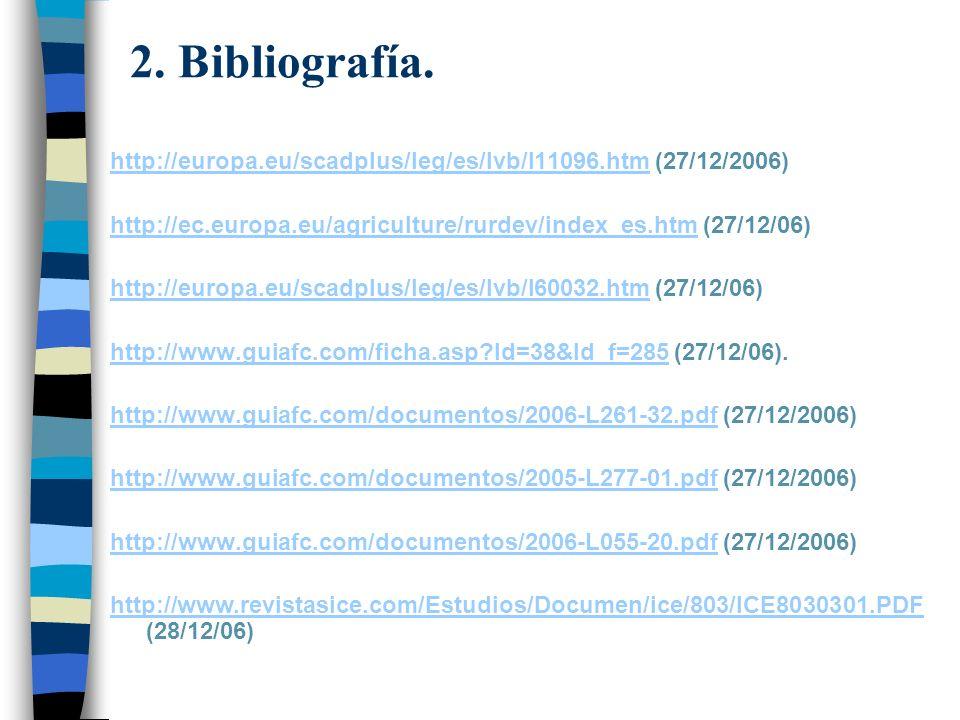 2. Bibliografía.