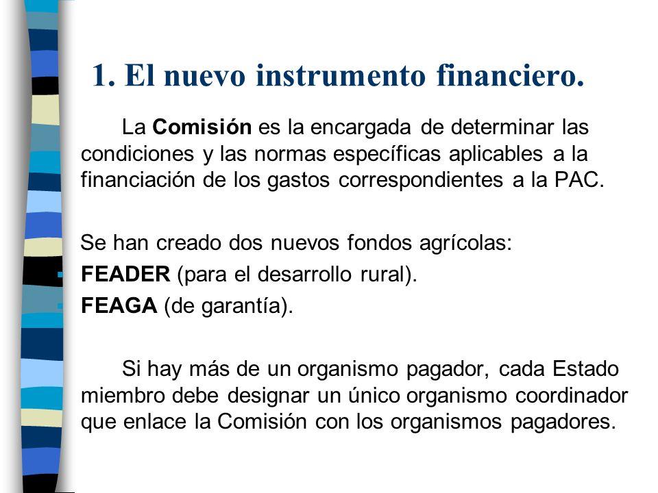 1. El nuevo instrumento financiero.