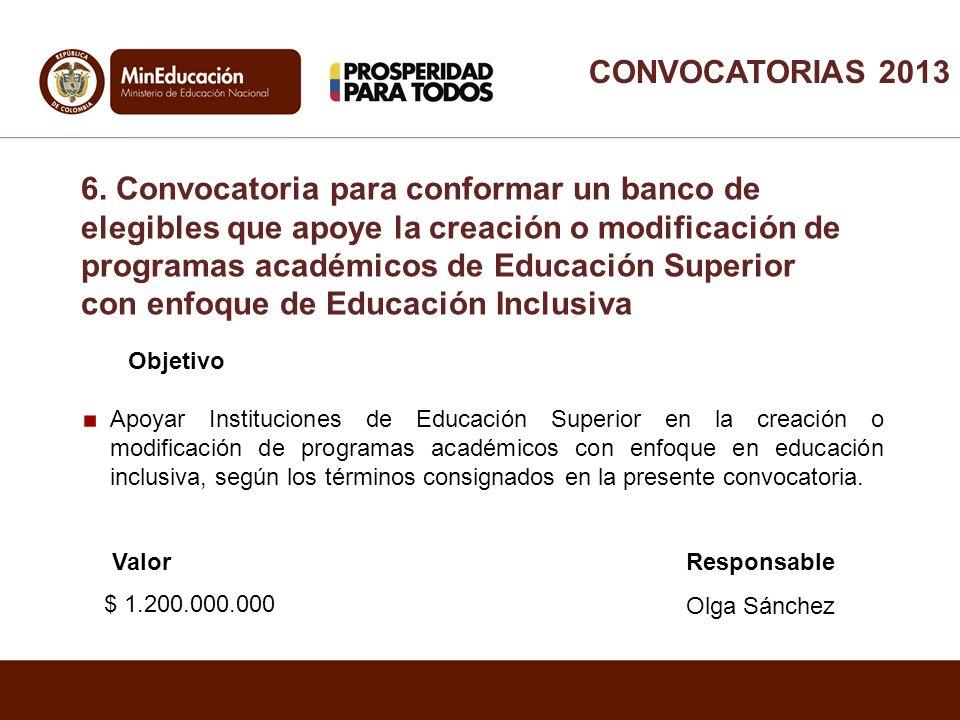 Objetivo Apoyar Instituciones de Educación Superior en la creación o modificación de programas académicos con enfoque en educación inclusiva, según lo
