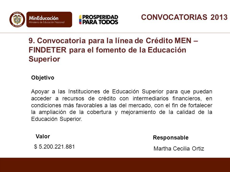 Objetivo Apoyar a las Instituciones de Educación Superior para que puedan acceder a recursos de crédito con intermediarios financieros, en condiciones