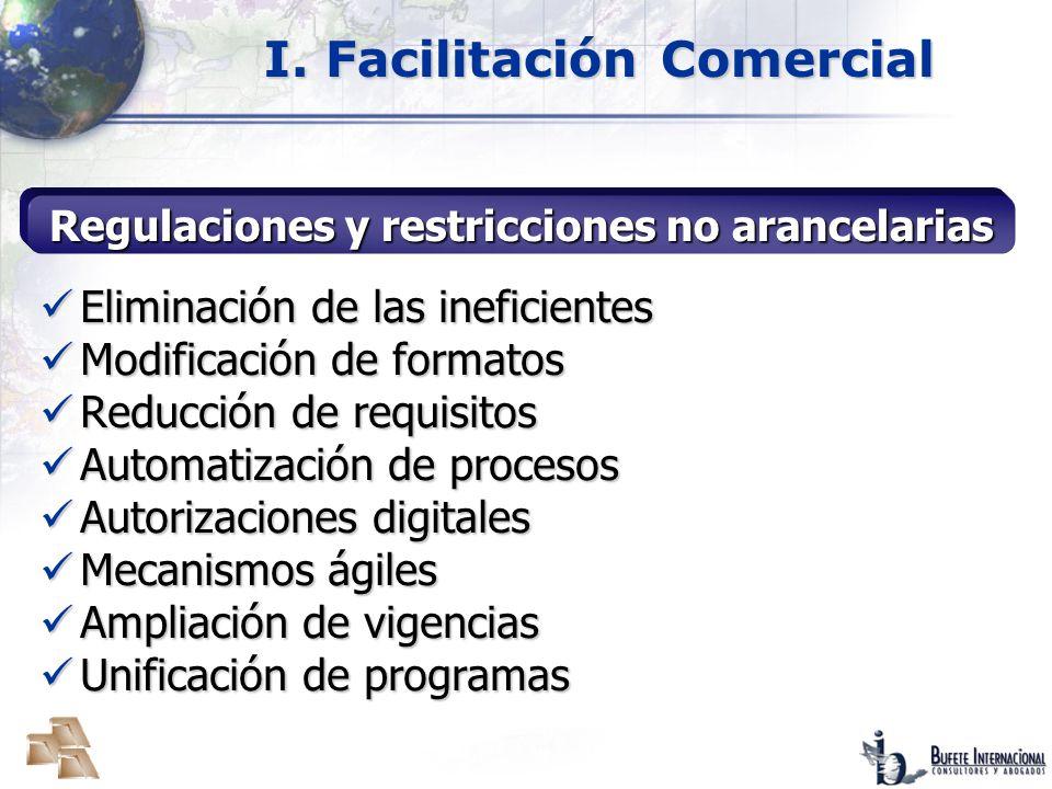 Publicación: 31.3.2008 Inicio de vigencia: 14.4.2008 Emisión de reglas: 30 días Implementación de los Sistemas Digitales: 60 días Decreto de Facilitación Aduanera Implementación