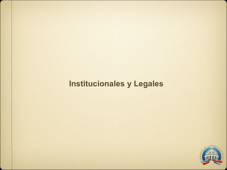 Institucionales y Legales