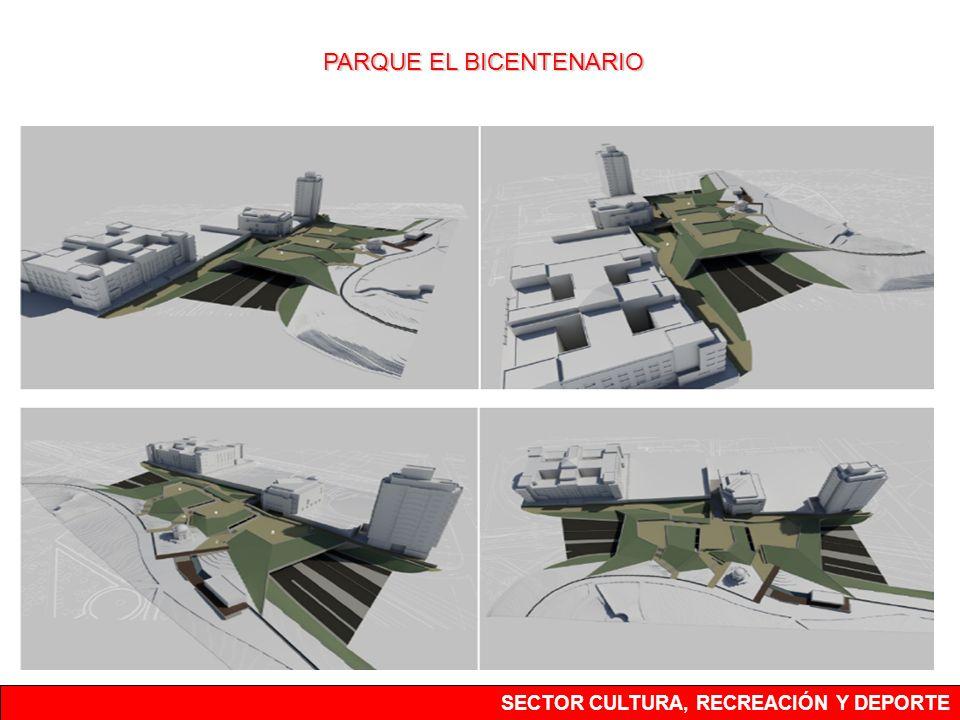 SECTOR CULTURA, RECREACIÓN Y DEPORTE PARQUE EL BICENTENARIO