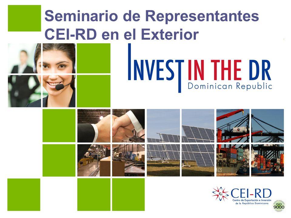 Seminario de Representantes CEI-RD en el Exterior