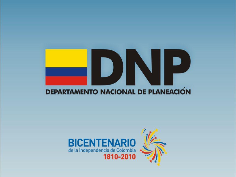 POLITICA PUBLICA REGIONAL EN COLOMBIA: AVANCES Y PERSPECTIVAS OSWALDO AHARÓN PORRAS VALLEJO Director de Desarrollo Territorial Sostenible Departamento Nacional de Planeación Universidad La Gran Colombia Armenia, 21 de mayo de 2009