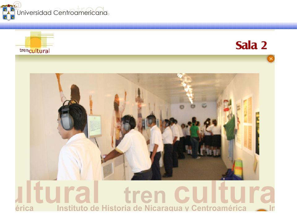 El Tren Cultural Proyecto educativo y cultural del Instituto de Historia de Nicaragua y Centroamérica de la UCA para difundir temas relacionados con l