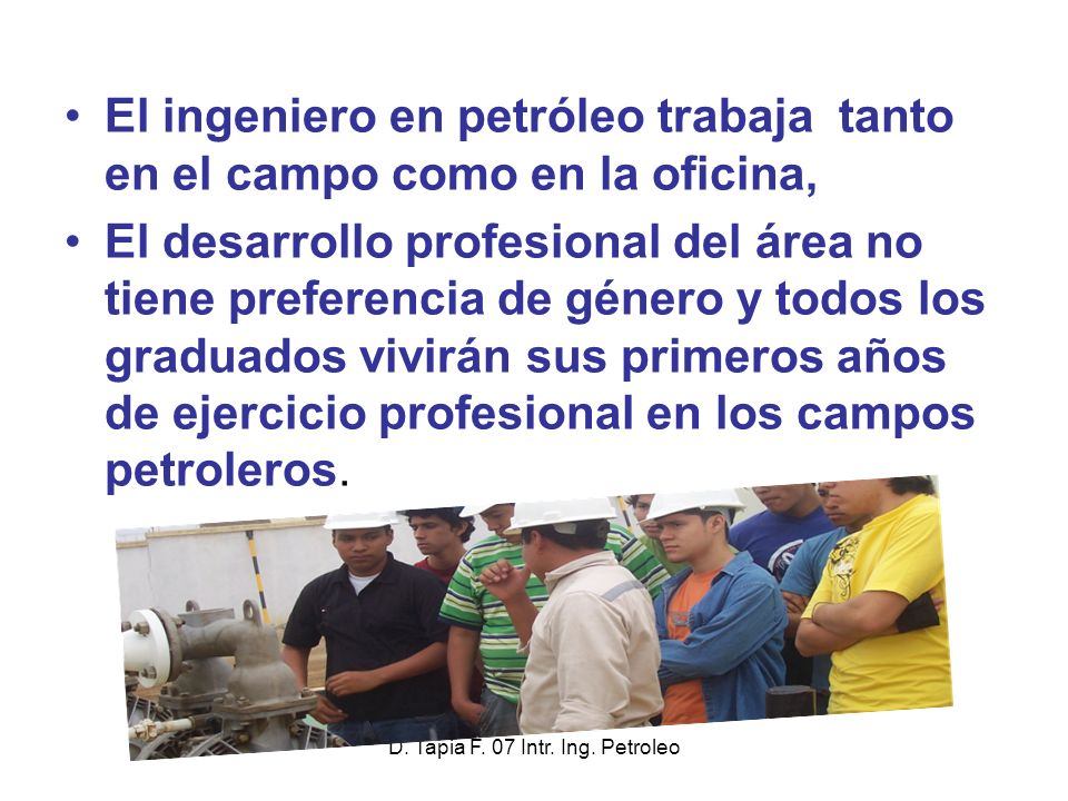 D.Tapia F. 07 Intr. Ing. Petroleo A Drilling Rig .