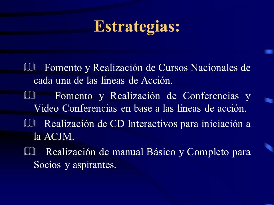 Estrategias Fomento de Círculos de Estudio a nivel Parroquial.