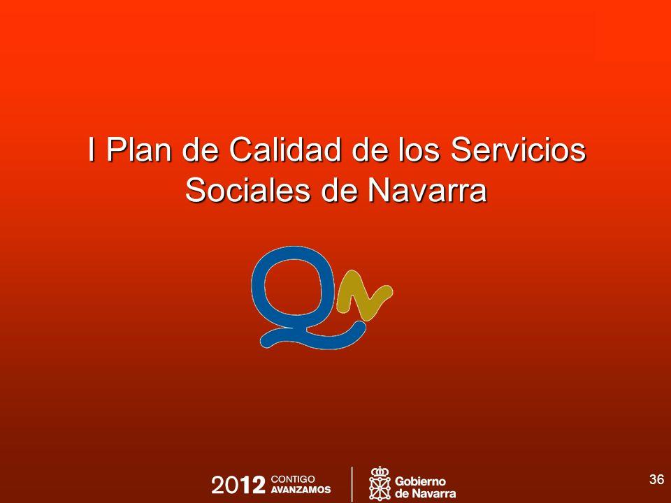 36 I Plan de Calidad de los Servicios Sociales de Navarra
