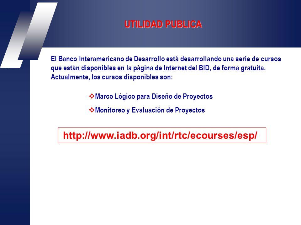 El Banco Interamericano de Desarrollo está desarrollando una serie de cursos que están disponibles en la página de Internet del BID, de forma gratuita.