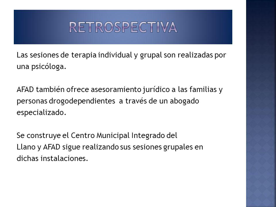 A partir de 2008 los servicios de la AFAD se centran sobre todo en las familias.