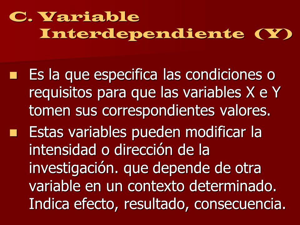 El que una variable sea independiente o dependiente estará en función de la hipótesis. El que una variable sea independiente o dependiente estará en f