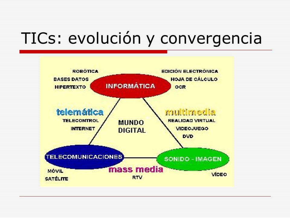 TICs: evolución y convergencia
