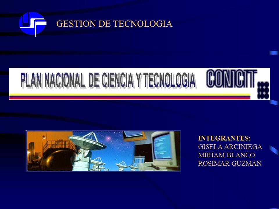 GESTION DE TECNOLOGIA INTEGRANTES: GISELA ARCINIEGA MIRIAM BLANCO ROSIMAR GUZMAN