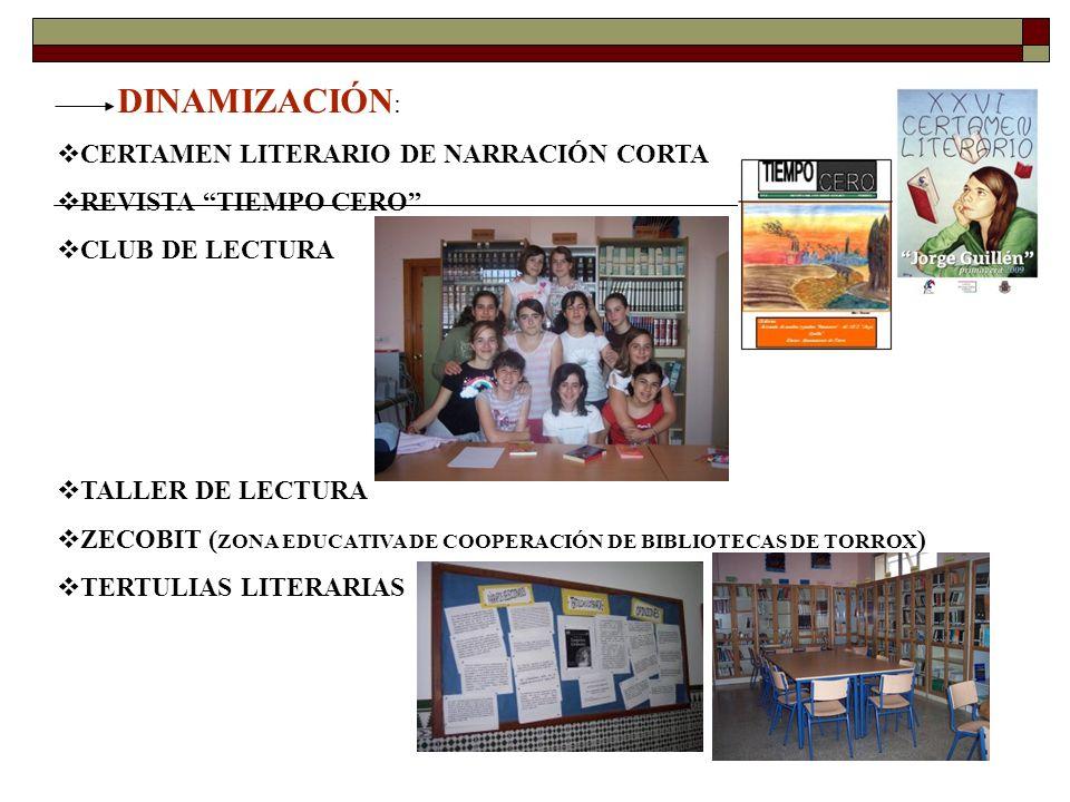 O RGANIZACIÓN DE VISITAS A BIBLIOTECAS MUNICIPALES Y LIBRERÍAS DE INTERÉS.