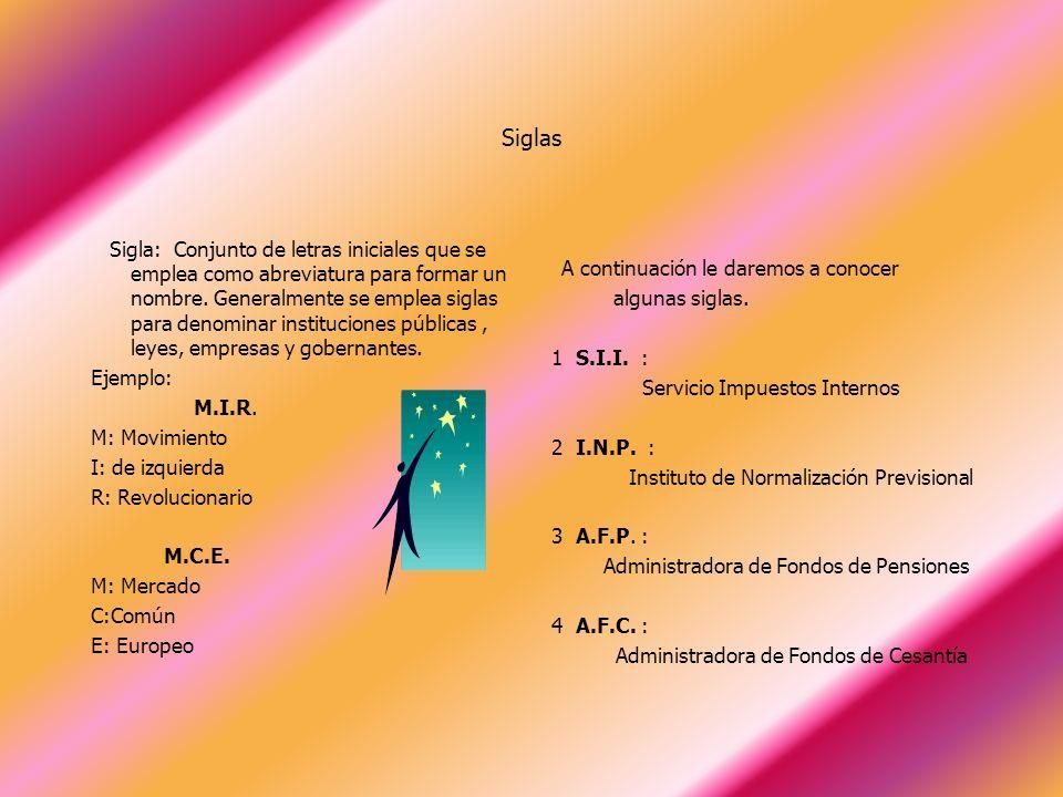 LICEO LUIS CRUZ MARTÍNEZ HABILIDADES COMUNICACIONALES SIGLAS DE USO COMÚN YACQUELINE CASTILLO M 2010