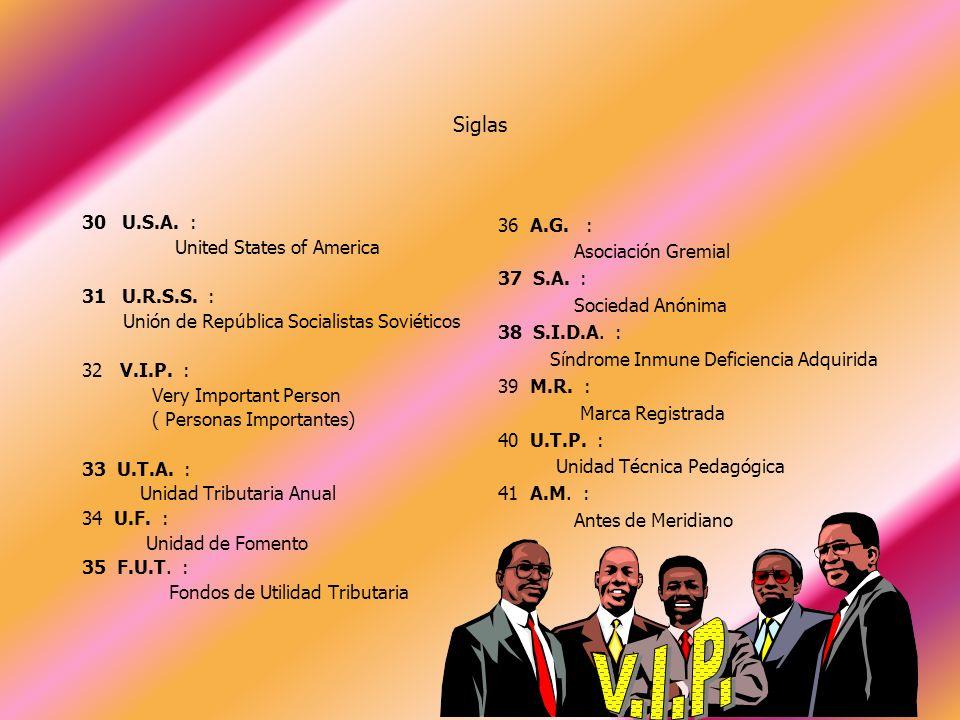 17 E.M.O.S.: Empresa Municipal de Obras Sanitarias 18 O.L.P.