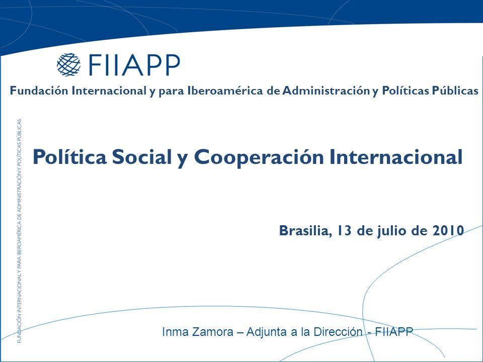 ¿Qué es la FIIAPP.Constituida en 1997.