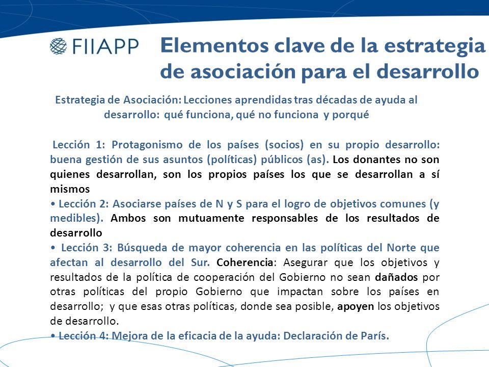 Estrategia de Asociación para el Desarrollo y eficacia de la ayuda: La Declaración de París Gestión para resultados