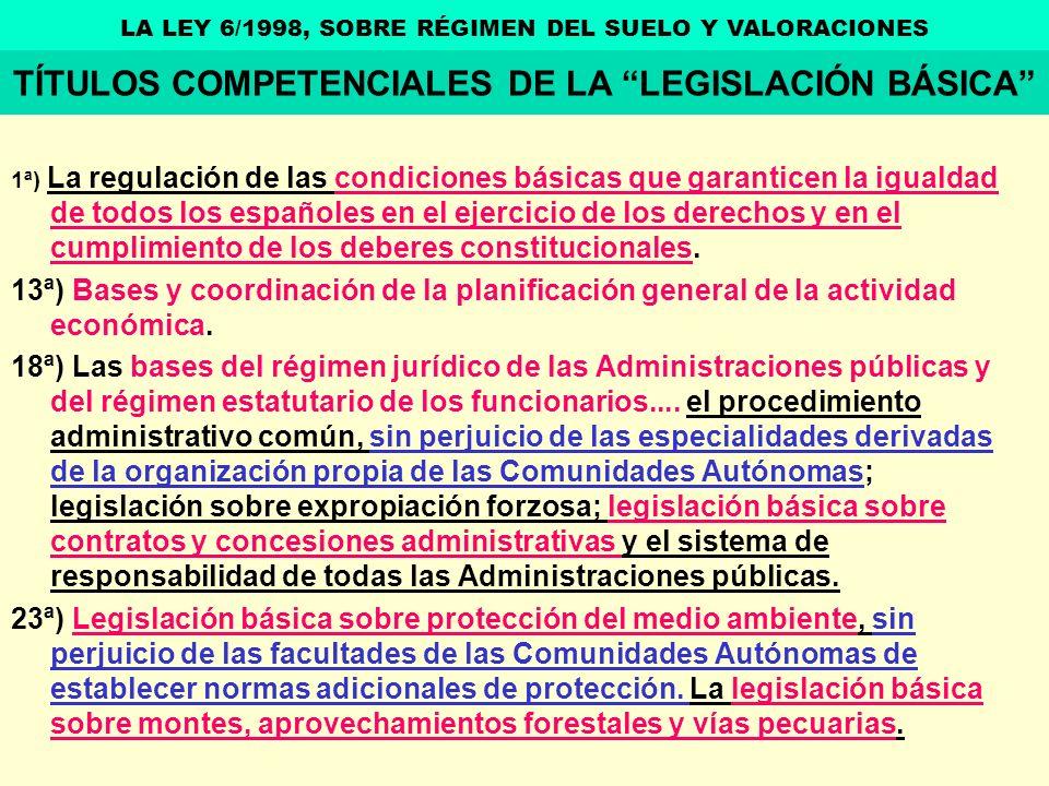1ª) La regulación de las condiciones básicas que garanticen la igualdad de todos los españoles en el ejercicio de los derechos y en el cumplimiento de