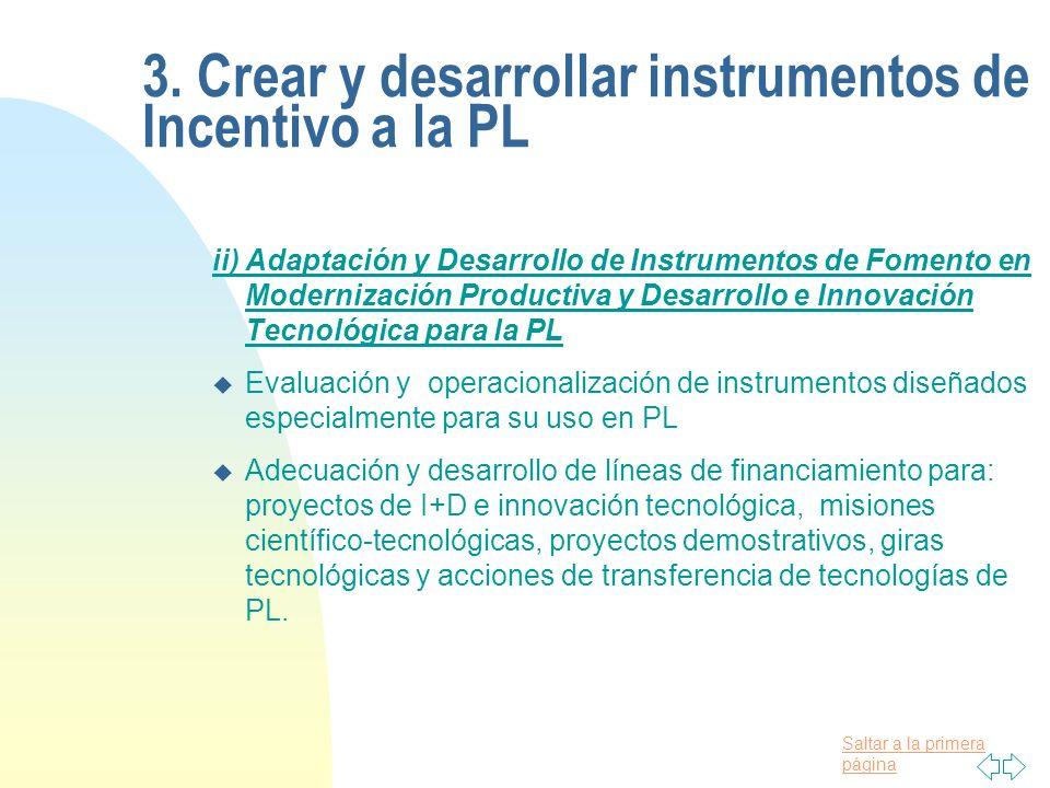 Saltar a la primera página iii)Generación, Adaptación y Desarrollo de Líneas Financieras en PL u Promover la participación activa de las instituciones financieras, desde sus niveles estratégicos, a la producción limpia.