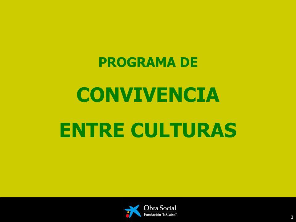 PROGRAMA DE CONVIVENCIA ENTRE CULTURAS 1