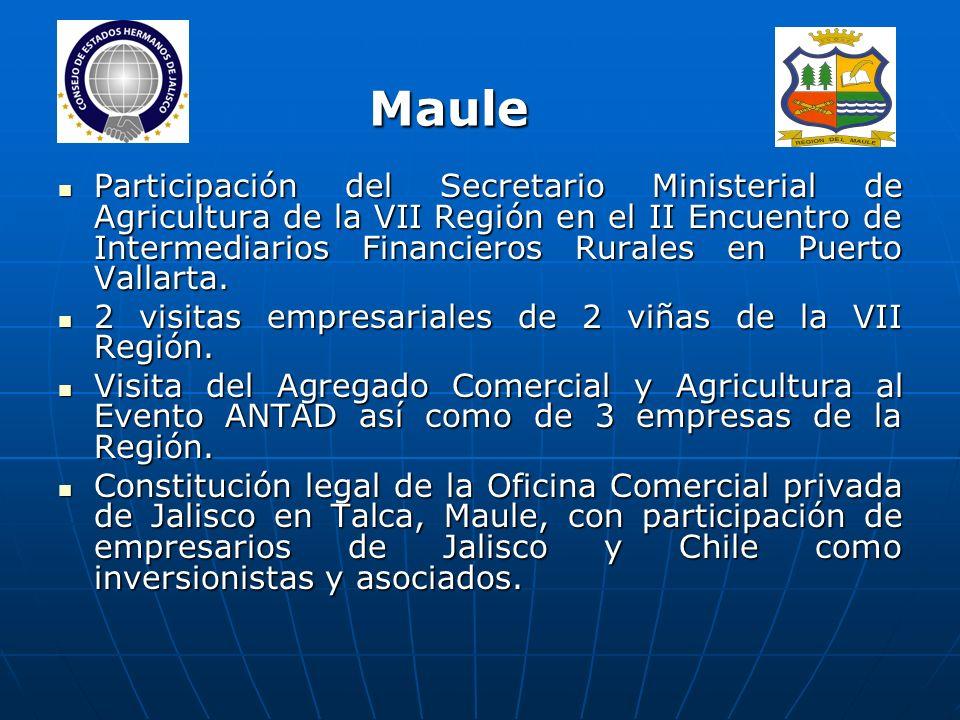 Participación del Secretario Ministerial de Agricultura de la VII Región en el II Encuentro de Intermediarios Financieros Rurales en Puerto Vallarta.
