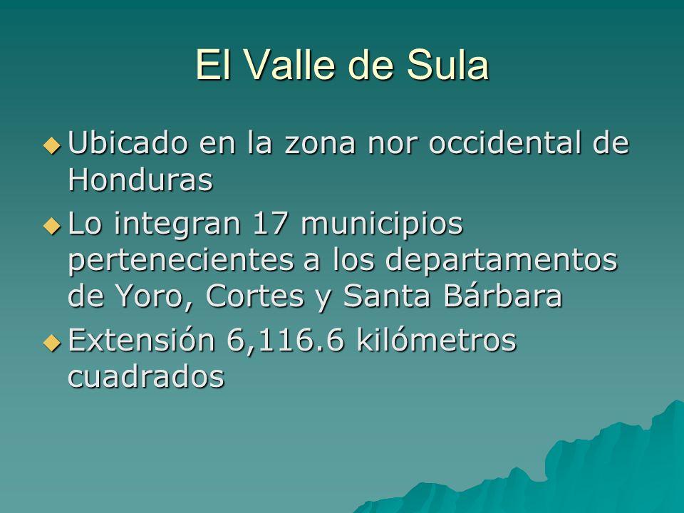 Ubicado en la zona nor occidental de Honduras Ubicado en la zona nor occidental de Honduras Lo integran 17 municipios pertenecientes a los departament
