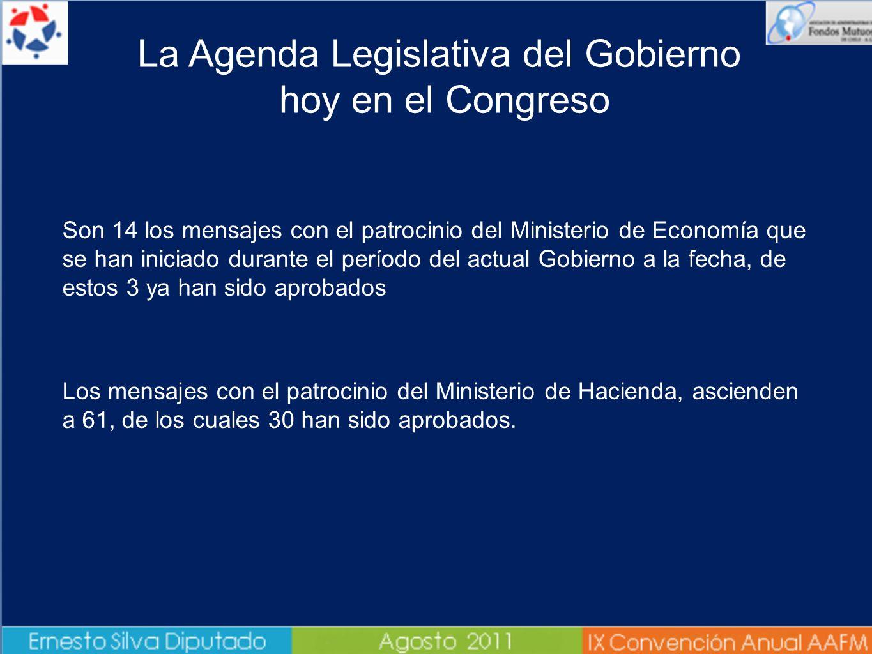 Son 14 los mensajes con el patrocinio del Ministerio de Economía que se han iniciado durante el período del actual Gobierno a la fecha, de estos 3 ya