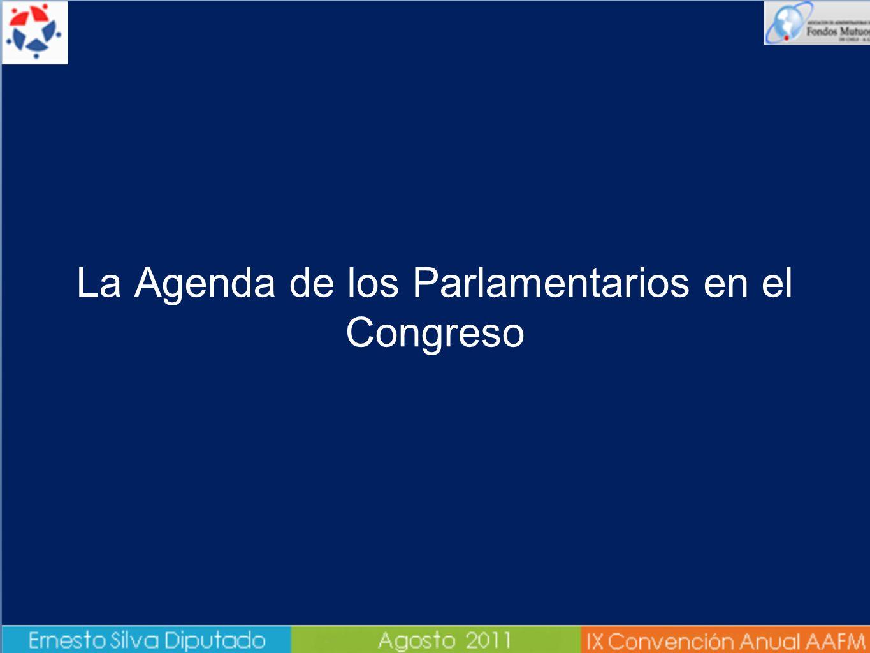La Agenda de los Parlamentarios en el Congreso